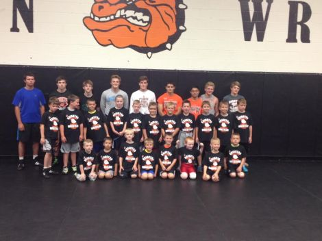 Current and future Bulldog grapplers come together for Youth Camp